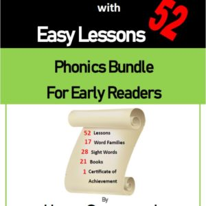 Learn to Read with 54 Easy Lessons – Phonics Bundle for Early Readers