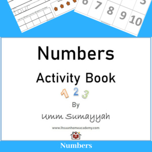 Numbers Activity Book 1-10