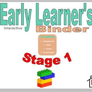 Early Learner's Interactive Binder (Preschool)