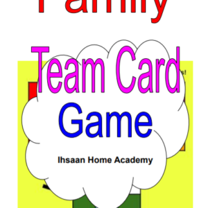 Family Team Card Game