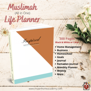 Inspired – Muslimah Productivity Life Planner